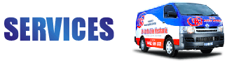 services and van